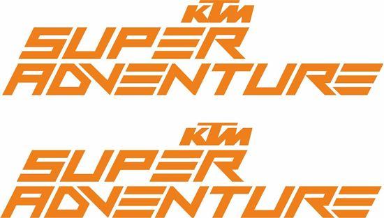 "Picture of ""KTM Super Adventure""  Decals / Stickers"