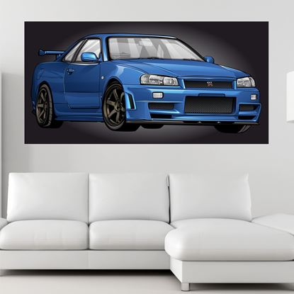 Picture of Nissan Skyline R34 GTR