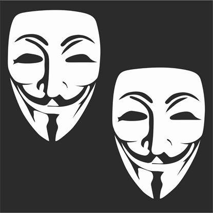 Picture of Anonymous  Decals / Stickers