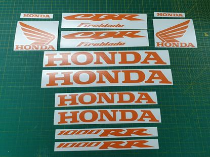 Picture of Honda CBR 1000RR Fireblade Decals / Stickers