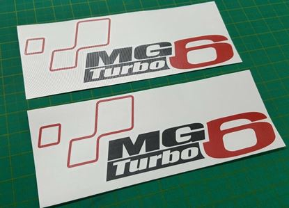 Picture of MG6 Turbo Decals / Stickers