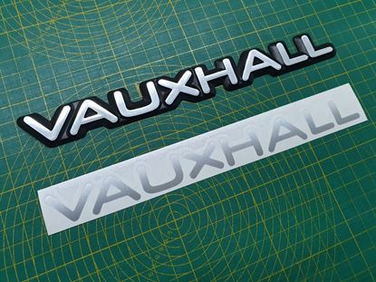 Picture of Vauxhall Cavalier  MK3  rear Badge restoration overlay Decals / Stickers