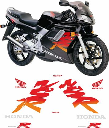 Picture of Honda NSR 125R  2000 - 2001 replacement Decals / Stickers