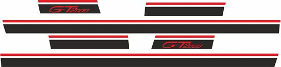 Picture of Toyota Celica GT2000 1972- 1977 side Stripes / Stickers