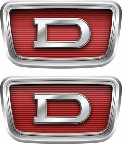 Picture of Datsun 1000  Emblem Badge Decals / stickers
