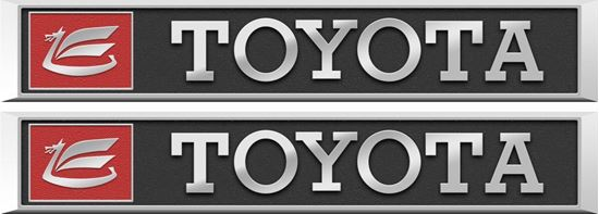 Picture of Toyota Celica TA22  Boot Emblem  Decals / Stickers