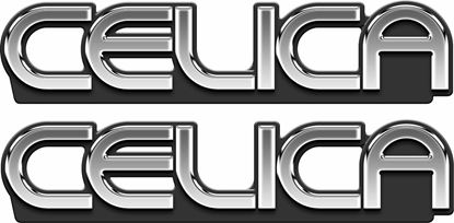 Picture of Toyota Celica  Emblem  Decals / Stickers