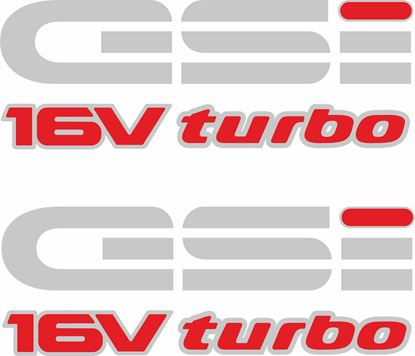 Picture of Vauxhall  Nova GSi  Turbo Decals / Stickers