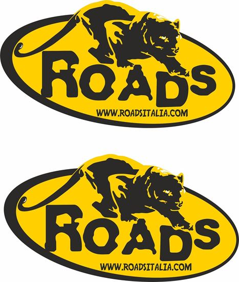 "Picture of ""Roads""  Track and street race sponsor logo"
