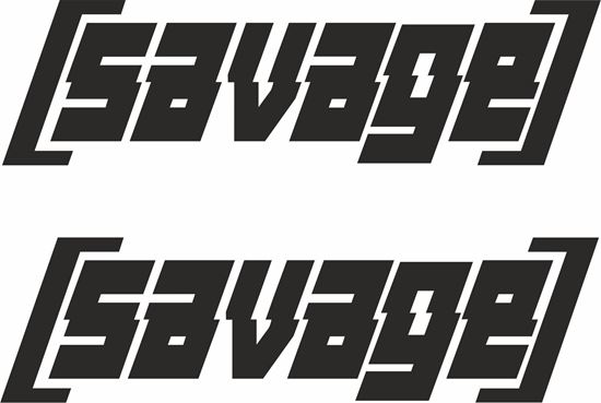 Picture of Savage panel / Glass Decals / Stickers