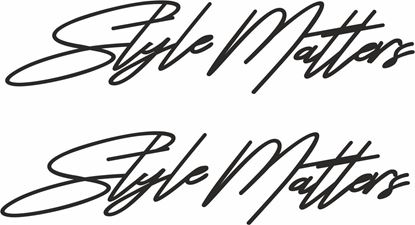 Picture of Style Matters Decals / Stickers