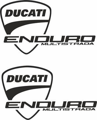 "Picture of ""Ducati Enduro Multistrada"" Decals / Stickers"