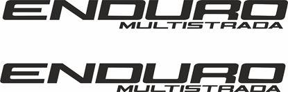 "Picture of ""Enduro Multistrada""Decals / Stickers"