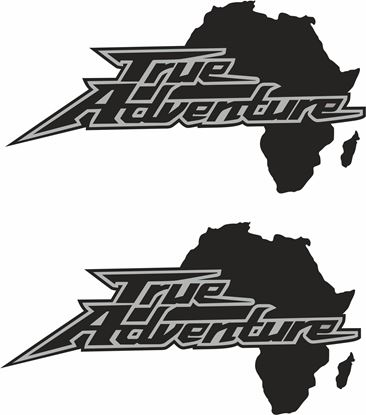 "Picture of ""True Adventure"" Decals / Stickers"