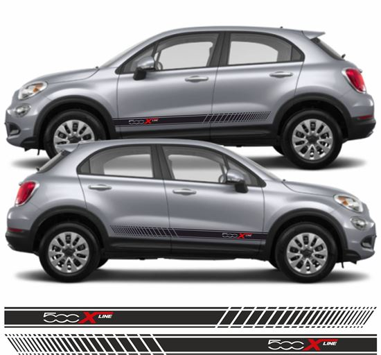 Picture of Fiat 500X Line side Stripes / Stickers