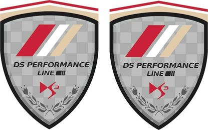 Picture of DS Performance Line Wing Decals / Stickers
