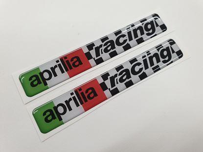 "Picture of ""aprilia racing"" exterior adhesive Badges"