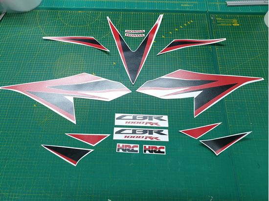 Picture of Honda CBR 1000RR-C Fireblade 2012 - 2016  replacement Decals / Stickers