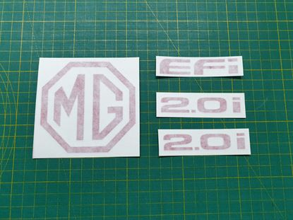 Picture of MG  Maestro replacement rear and side Decals / Stickers