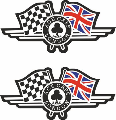 Picture of Ace Cafe London Decals / Stickers