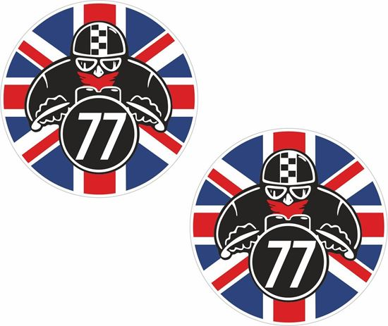 Picture of Cafe Racer Decals / Stickers