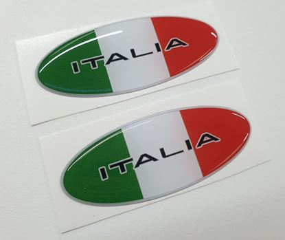 Picture of Italia  Exterior Badges 70mm