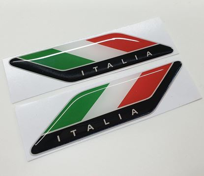 Picture of Italia 100mm wide adhesive Badges