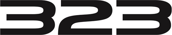 Picture of Mazda Familia 323 GT-X front Bumper replacement  Decal / Sticker