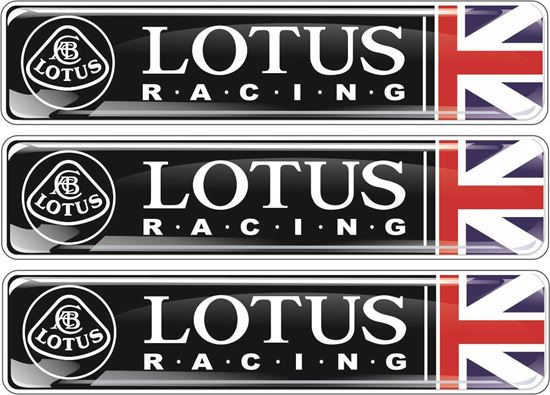 Picture of Lotus Racing adhesive Badges 90mm