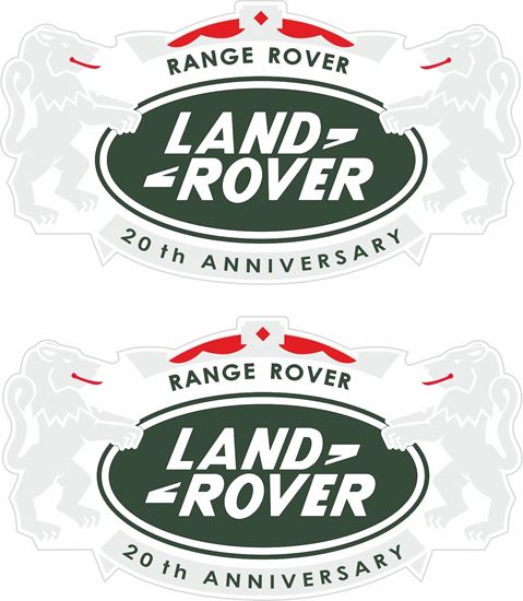 Picture of Range Rover 20th Anniversary replacement Decals / Stickers