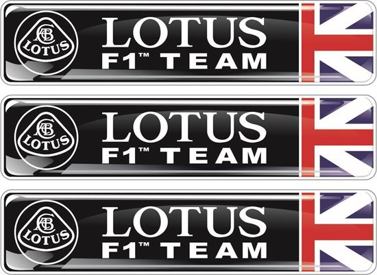 Picture of Lotus F1 Team adhesive Badges 90mm