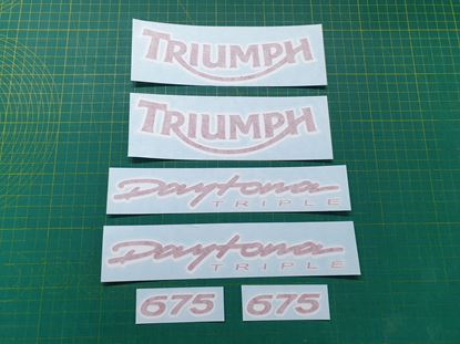 Picture of Triumph Daytona 675 2005 - 2006 replacement Decals / Stickers