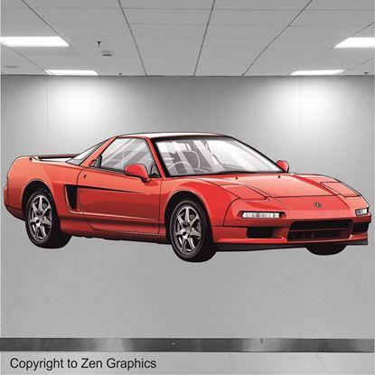 Picture of Honda / Acura NSX Wall Art sticker (full colour)