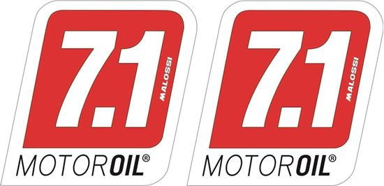 Picture of Malossi 7.1 Motor Oil Decals / Stickers