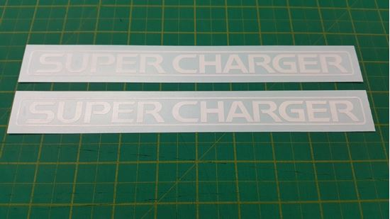 Picture of Toyota Supercharger Decals / Stickers