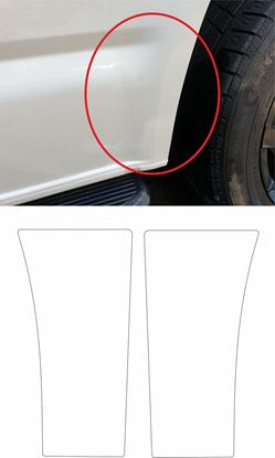 Picture of VW T5 / T6 Stone Guard Paint Protection Film (REAR ARCHES)
