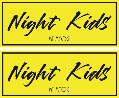 "Picture of ""Night Kids""  Decals / Stickers"