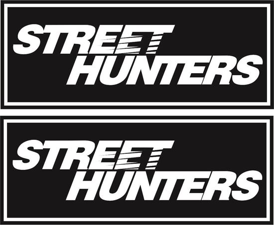 "Picture of ""Street Hunters""  Decals / Stickers"