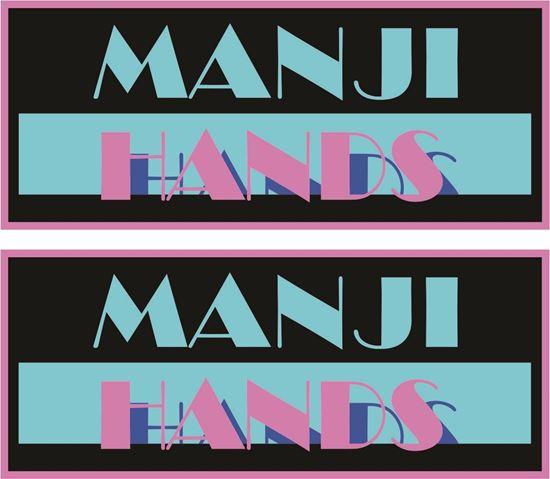 """Picture of """"Minaji Hands""""  Decals / Stickers"""