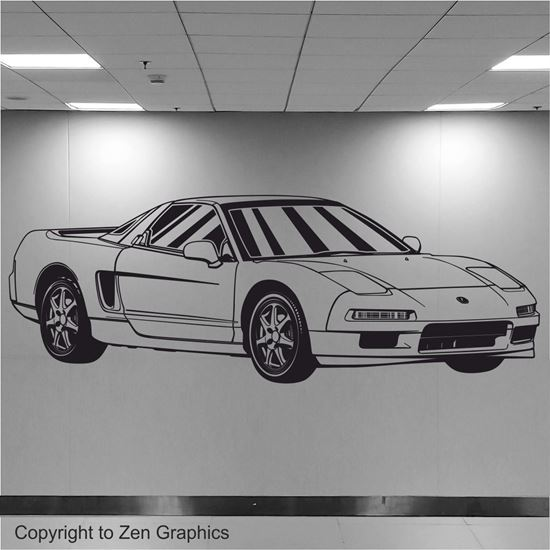 Picture of Honda / Acura NSX Wall Art sticker