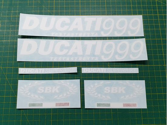 Picture of DUCATI 999 replacement Decals / Stickers