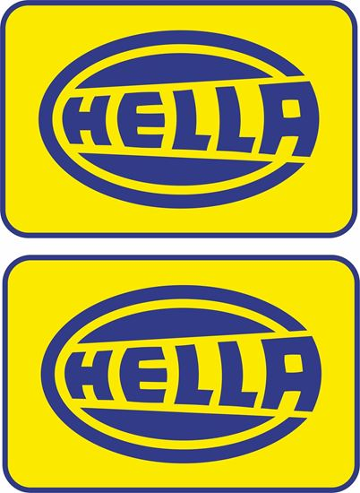 "Picture of ""Hella"" Decals / Stickers"