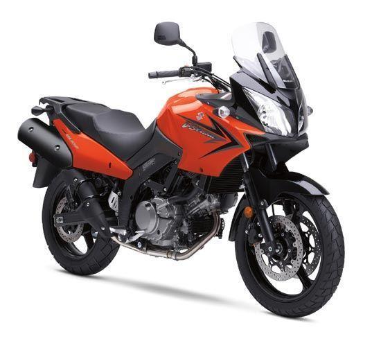 Picture of Suzuki DL650 V-Strom (Orange Bike) Replacement fairing Decals Sticker Graphics