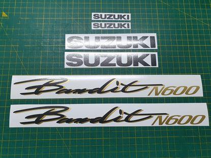 Picture of Suzuki Bandit N600 replacement Decals / Stickers