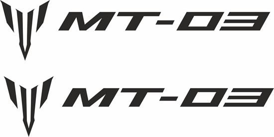 Picture of Yamaha MT-03 Decals / Stickers