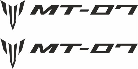 Picture of Yamaha MT-07 Decals / Stickers