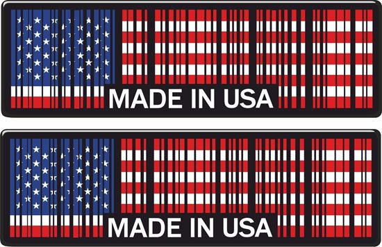 Picture of Made in USA Decals / Sticker