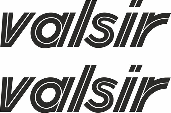 """Picture of """"Valsir"""" Track and street race sponsor logo"""