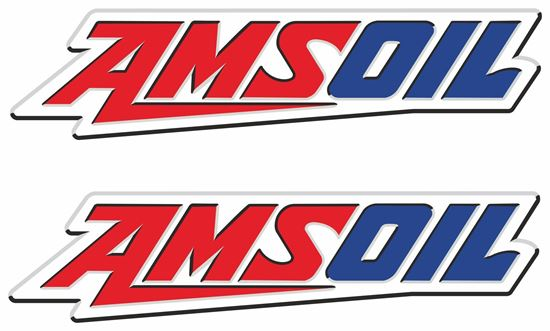 """Picture of """"Amsoil"""" Decals / Stickers"""