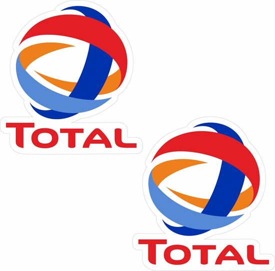 """Picture of """"Total"""" Decals / Stickers"""